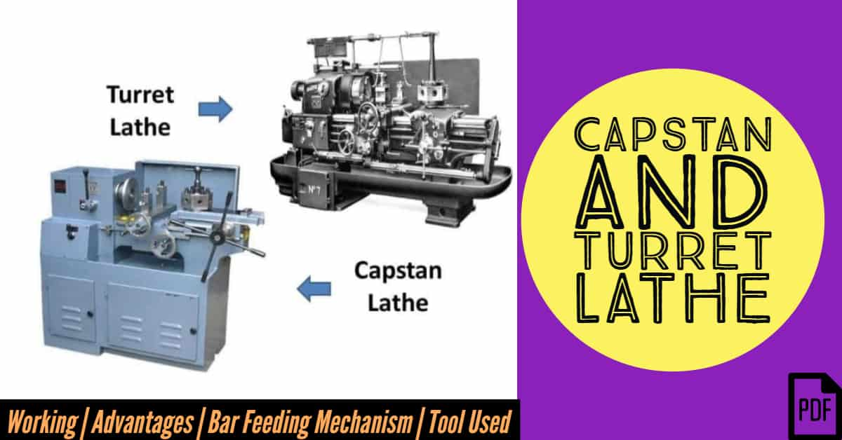 capstan and turret lathe