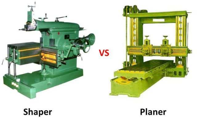 Difference Between Shaper and Planer, PDF