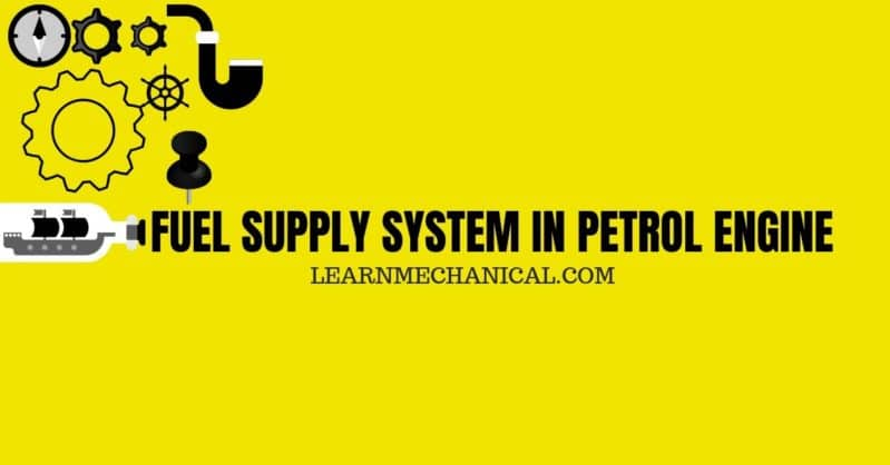 BOILER MOUNTINGS AND FUEL SUPPLY SYSTEM IN PETROL ENGINE FEATURE IMAGE