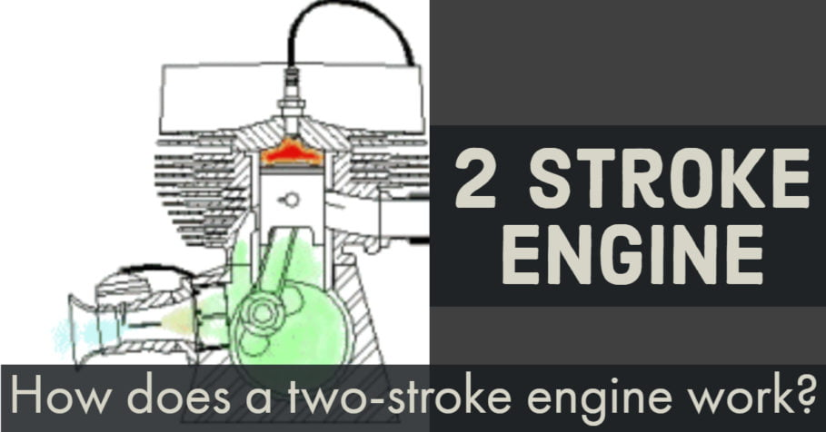 how does a two-stroke engine work