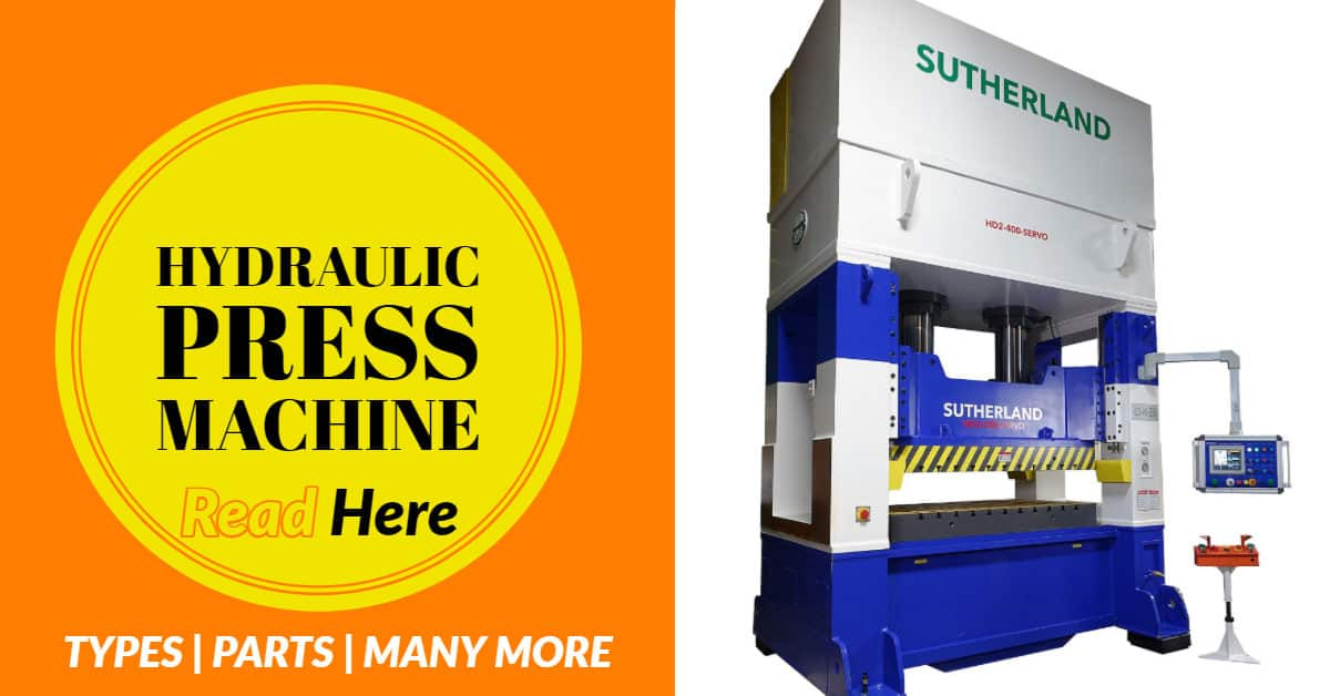 HYDRAULIC PRESS MACHINE FEATURE IMAGE