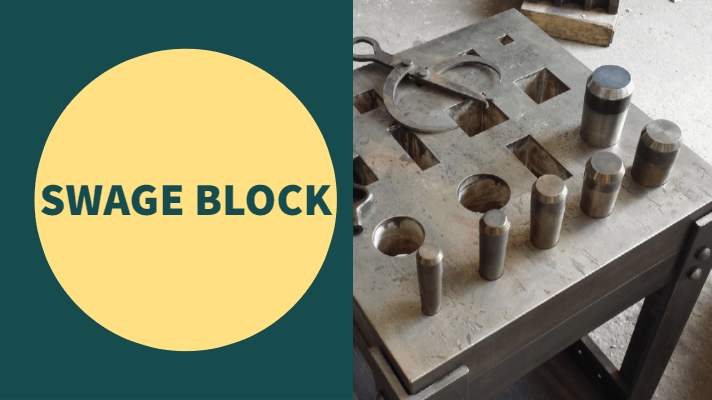 swage block use for forging
