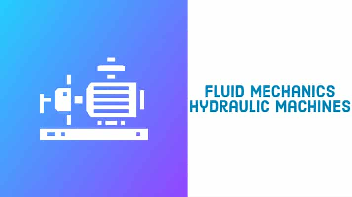 fluid mechanics and hydraulic machine