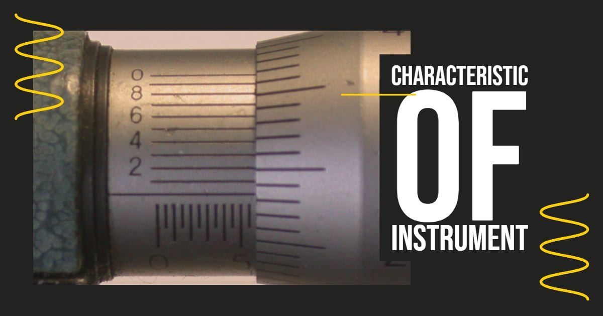 dynamic and static characteristic of instrument